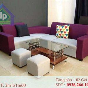 Điểm nổi bật của một bộ ghế sofa nỉ chính là độ êm ái và mềm mượt.