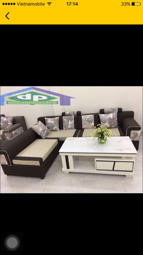 Lựa chọn màu sắc của các bộ ghế sofa