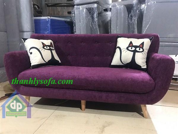 Các mẫu sofa nỉ nhung Đẹp cho không gian phòng khách sang trọng