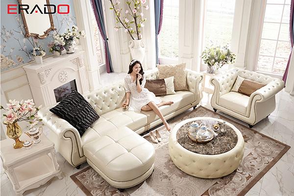 Sofa da - đại diện của sự sang trọng