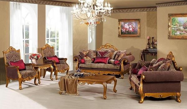 Mẫu sofa thiết kế dành cho phòng khách rộng rãi