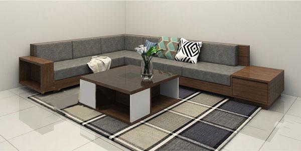 Màu sắc sofa đẹp tạo nên sự nổi bật và điểm nhấn cho phòng khách.
