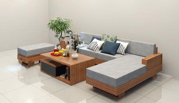 Mẫu sofa góc cho phòng khách nhỏ