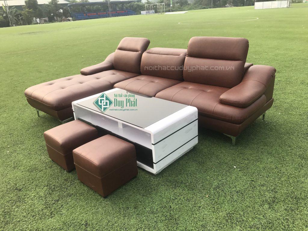 Cách chọn sofa da cho phòng khách hiện đại nhà bạn
