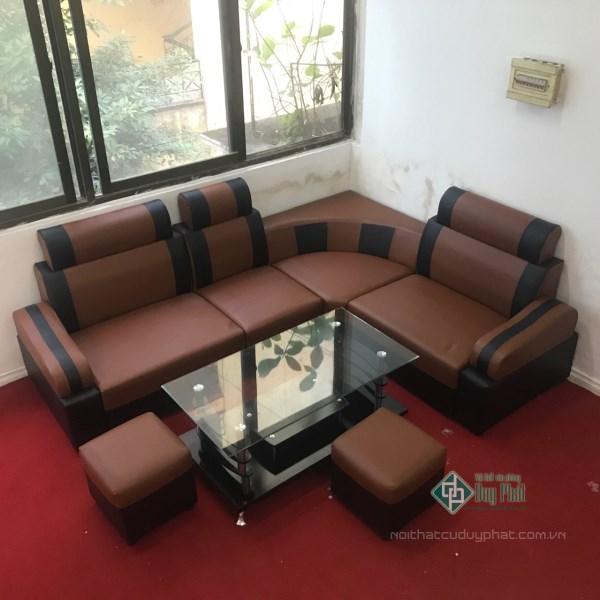 Sofa góc đem lại vẻ đẹp sang trọng, lịch lãm cho không gian phòng khách