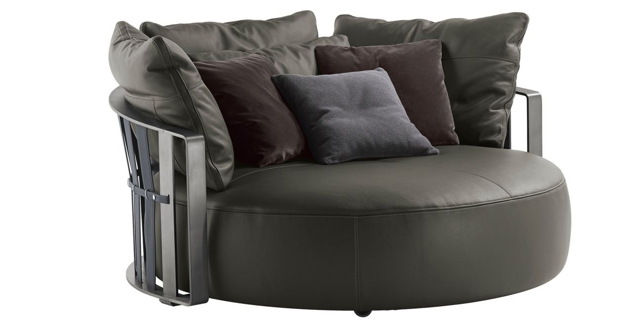 Đẹp nao lòng với những mẫu ghế sofa tròn vừa đẹp lại thoải mái