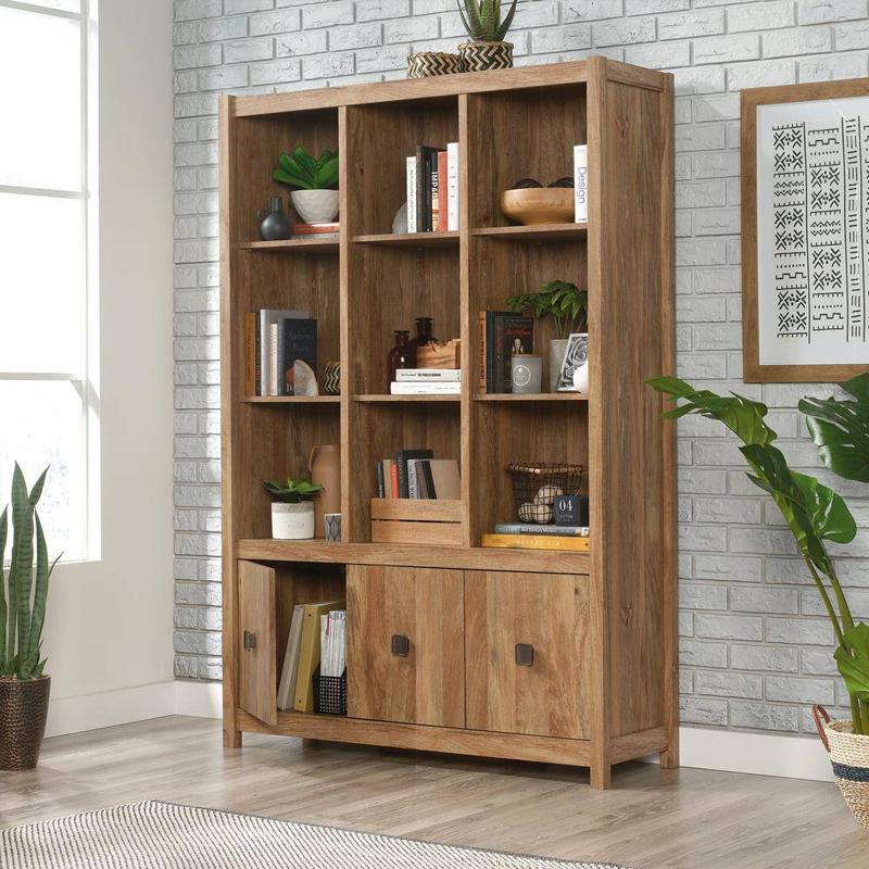 Các mẫu tủ kệ trang trí văn phòng đẹp mẫu mới nhất 2020