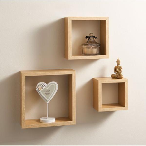 Các mẫu kệ trang trí gỗ ĐẸP cho phòng khách HOT nhất 2020