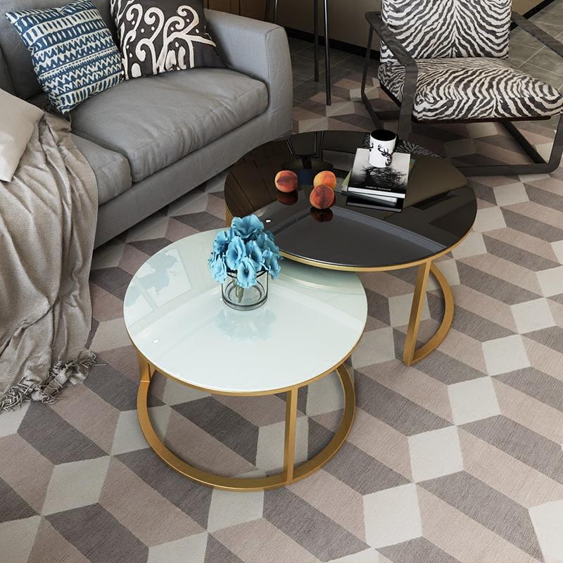 Bàn sofa đôi, bàn trà đẹp cho phòng khách hiện đại giá rẻ