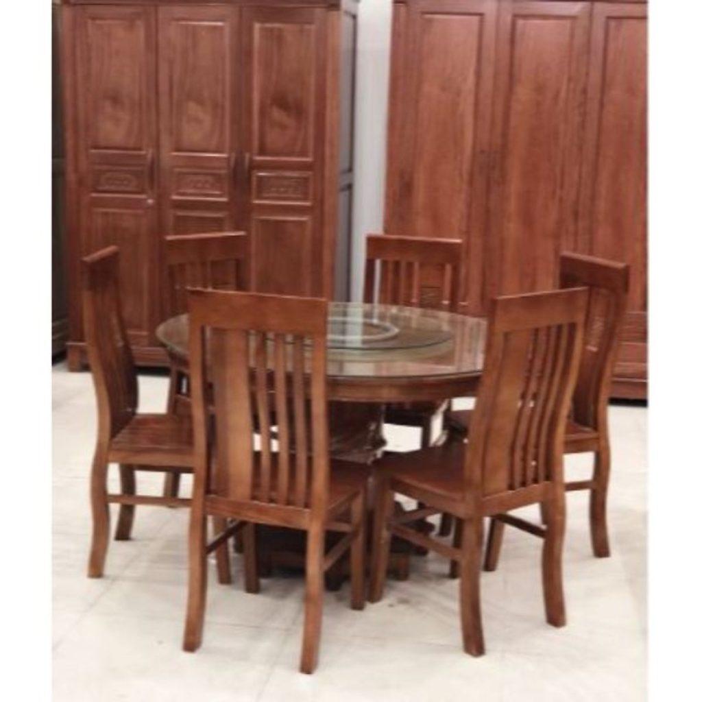 5 Bộ bàn ăn gỗ sồi đẹp được ưa chuộng nhất hiện nay