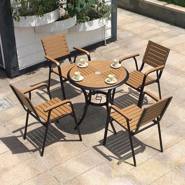 Các mẫu bàn ghế cafe ngoài trời giá rẻ | Mẫu mới nhất năm 2021