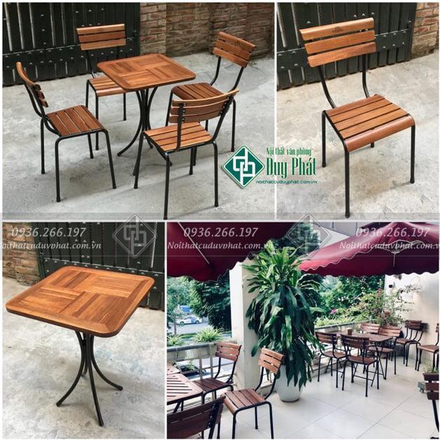 Thanh lý bàn ghế cà phê Hà Nội giá rẻ nhất | Mới 100%